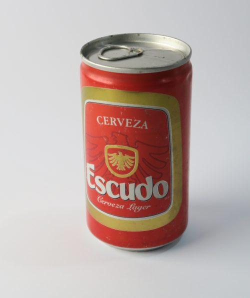 lata cerveza escudo 1
