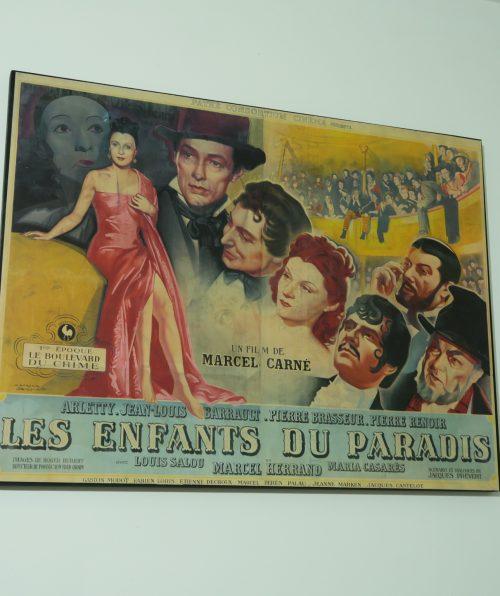 Afiche Les enfants du paradis
