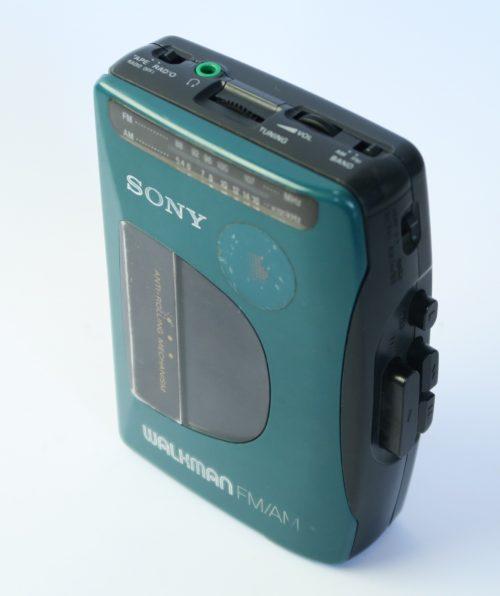 Walkman Sony Verde