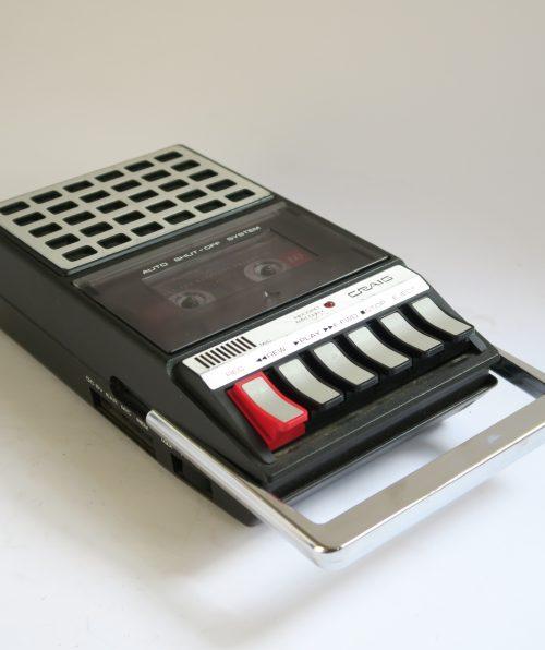 Craig Cassette Tape Recorder - Model 2635 1