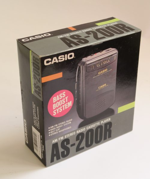 Personal Cassette CASIO AS-200R