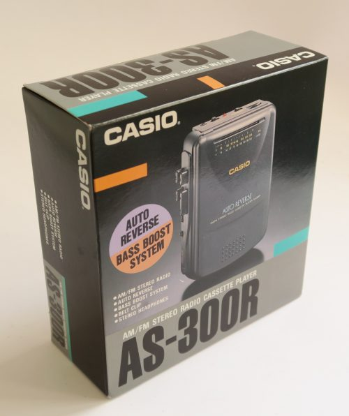 Personal Cassette CASIO AS-300R