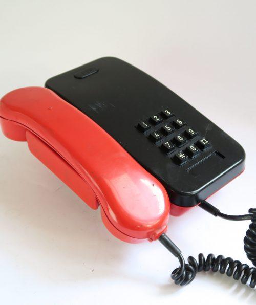 Telefono Citesa ITT rojo 1