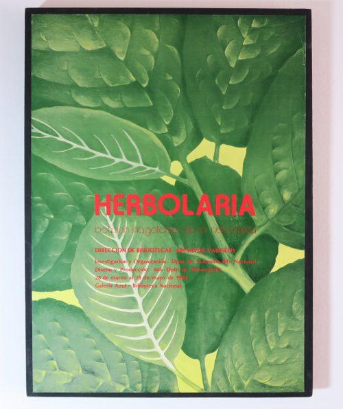 Afiche Herbolaria